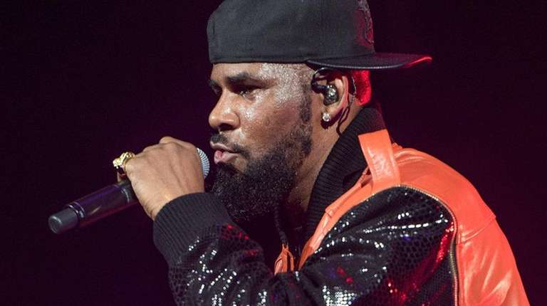 R. Kelly performs in concert at Barclays