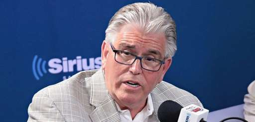 Mike Francesa during a 'Mike and the Mad Dog'