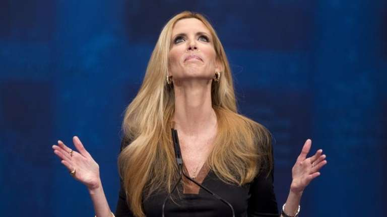 Ann Coulter speaks at the Conservative Political Action
