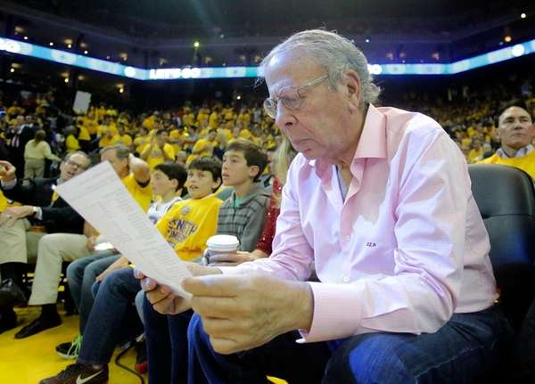 Houston Rockets owner Leslie Alexander during Game 2