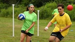 A Quidditch tournament was held at the Usdan