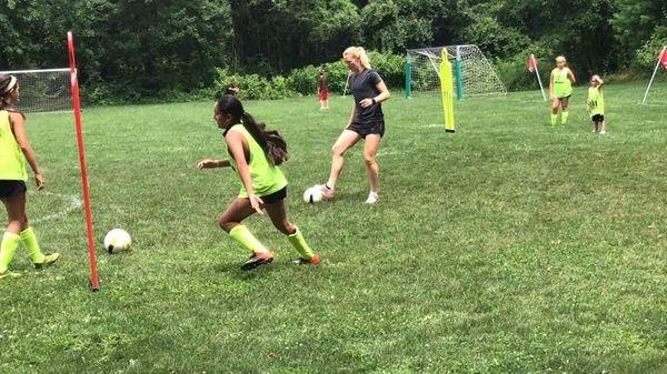 United States Women's Soccer National Team midfielder Sam