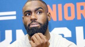 Knicks reintroduce Tim Hardaway, Jr. at Baruch College