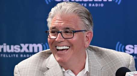Mike Francesa during a 'Mike and the Mad