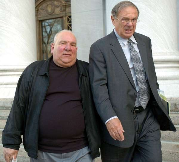 Alfred Scivola of Rhode Island, left, and his