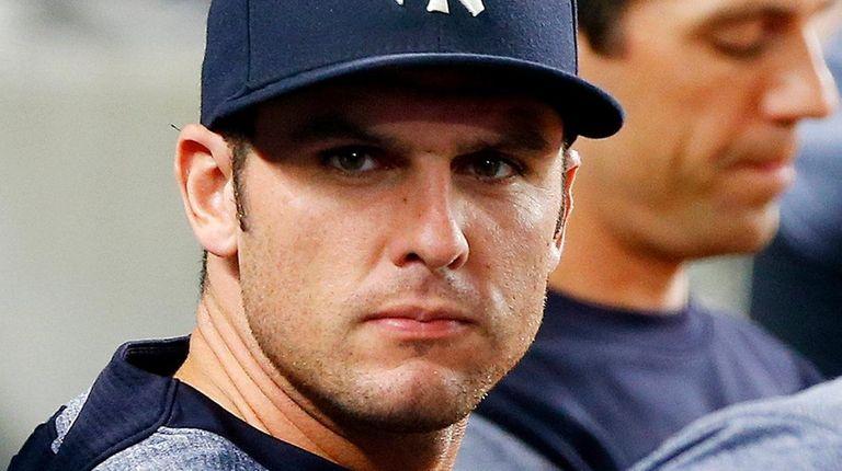 Greg Bird #33 of the New York Yankees