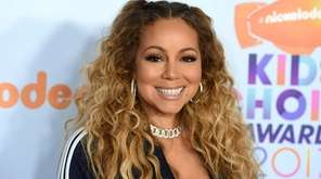 Mariah Carey at the Kids' Choice Awards in