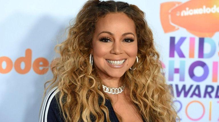 Mariah Carey at the Kids' Choice Awards in