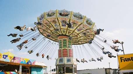 The Thrill Swing is one ride at the
