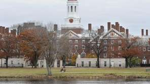 Harvard University ranked among the top schools in