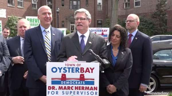 The Oyster Bay Democrats on Wednesday April 19,