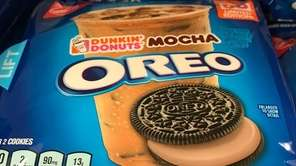 In July 2017, limited-edition Dunkin' Donuts Mocha Oreo