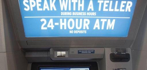 An interactive teller machine at the NEFCU branch