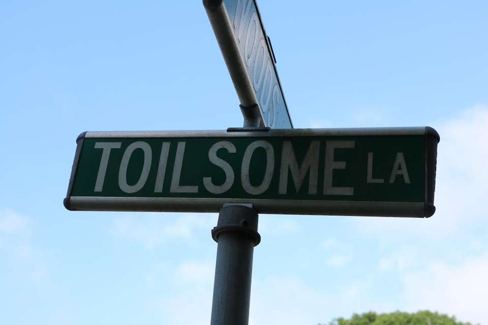Toilsome Lane -- located in East Hampton --