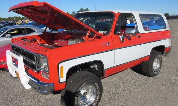1975 GMC Jimmy SUV owned by Andrew Biondo.