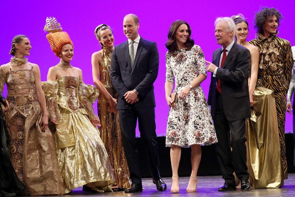 Prince William, Duke of Cambridge, and Kate, Duchess