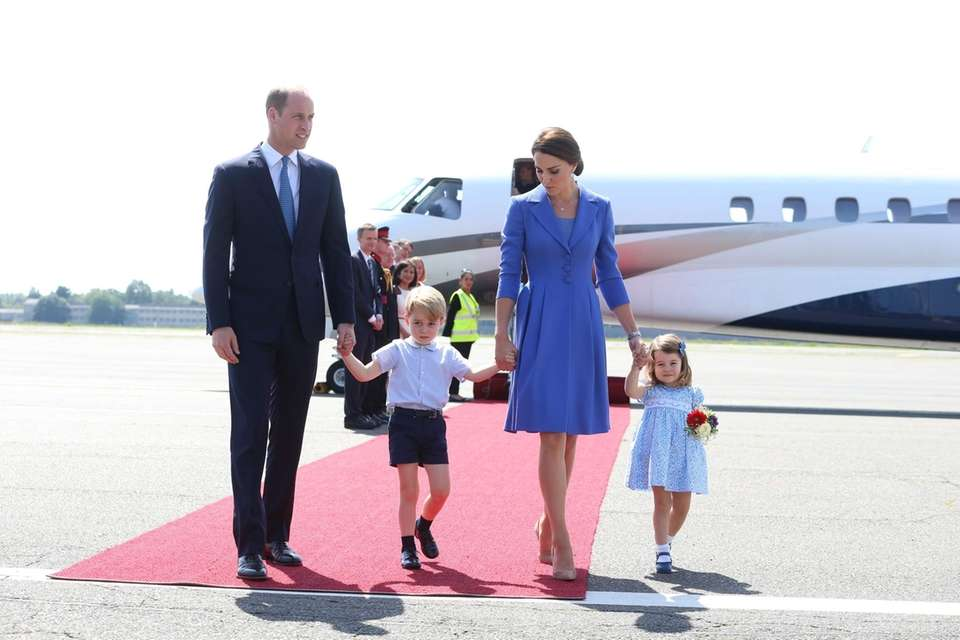 The Duke and Duchess of Cambridge, William and