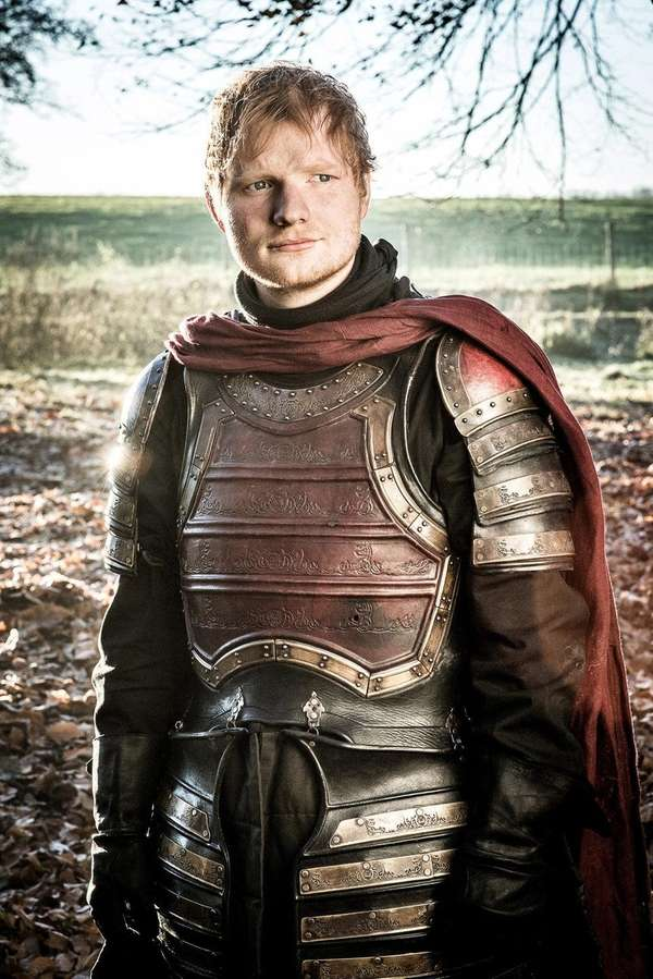 Ed Sheeran in HBO's