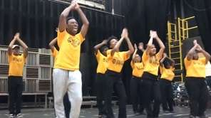 Uniondale High School's award-winning show choir, Rhythm of