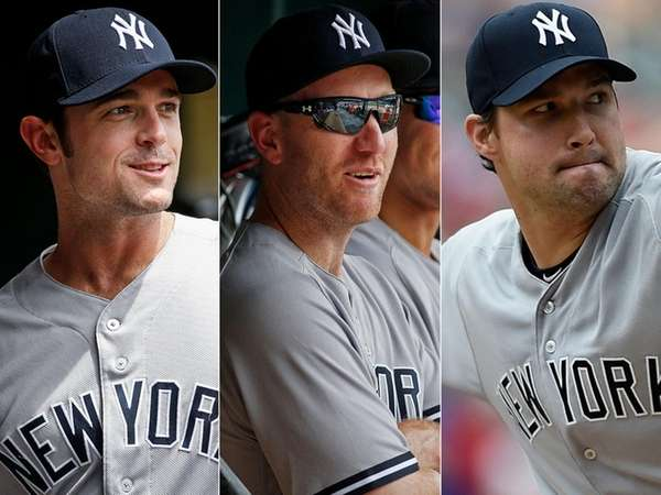 The New York Yankees acquired relief pitcher David