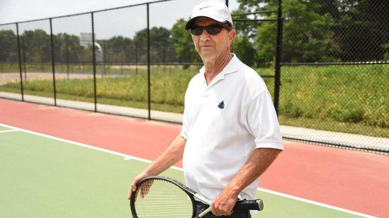 Ron Landman at the new Sweet Hollow Park