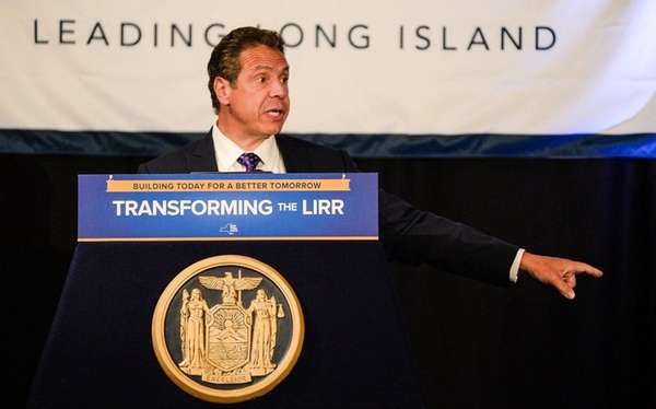 Governor Andrew M. Cuomo speaks at the Crest