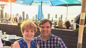 Kathy and Stephen Pagano of East Meadow celebrated