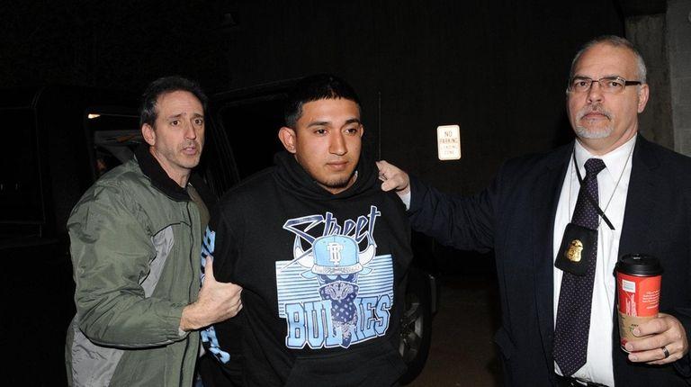 Jairo Saenz, one of the accused MS-13 street