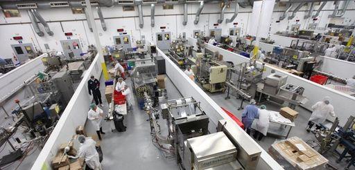 PL Developments' production floor in Westbury, is seen