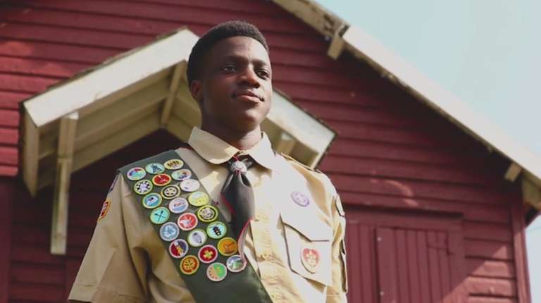 In an effort to earn his Eagle Scout