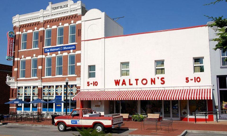 Sam Walton, the founder of Walmart, took his
