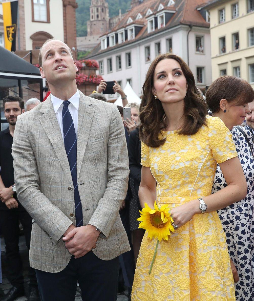 The Duke and Duchess of Cambridge, William and