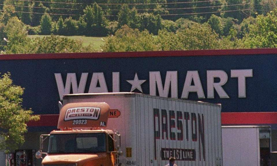 In 1991, Walmart expanded into New York State