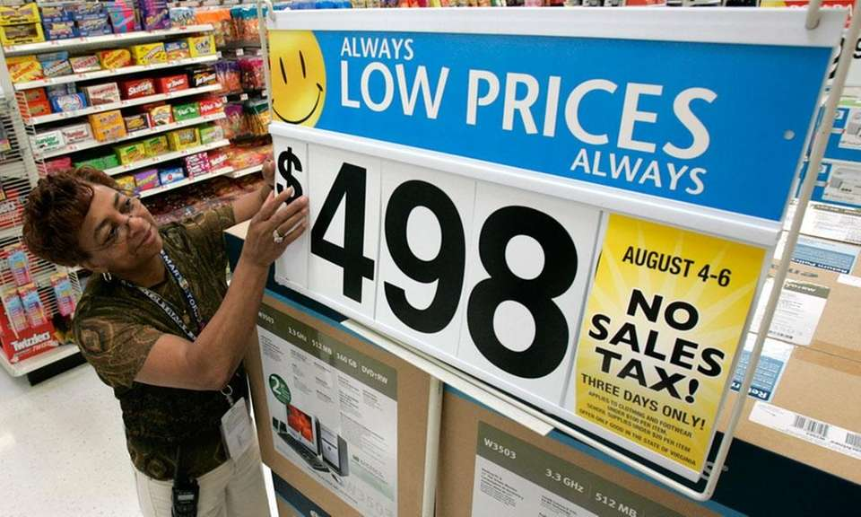 One of the most recognizable signs of Walmart