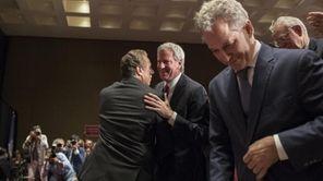 Gov. Andrew Cuomo and New York City Mayor