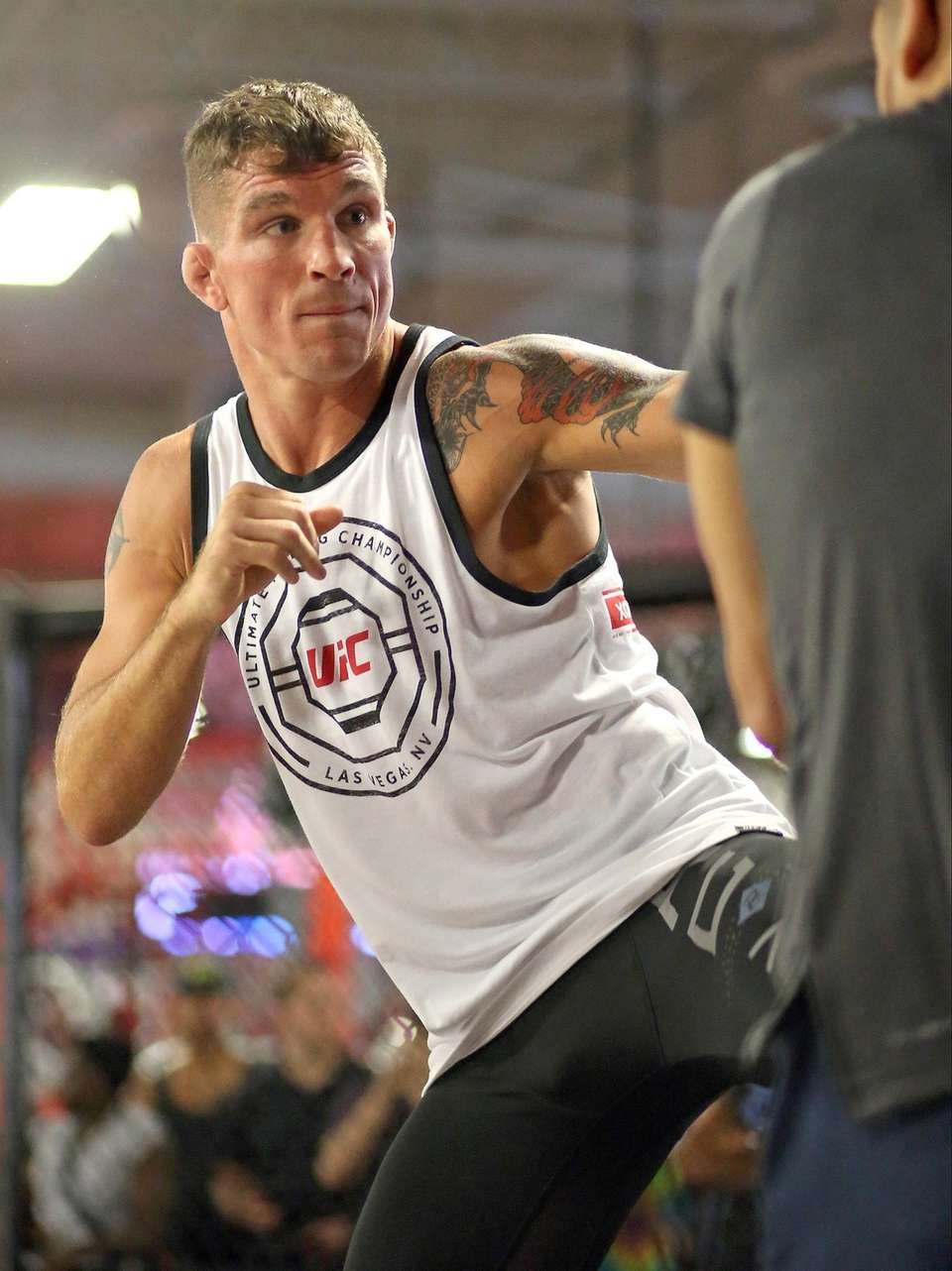 Darren Elkins prepares for upcoming fight at the