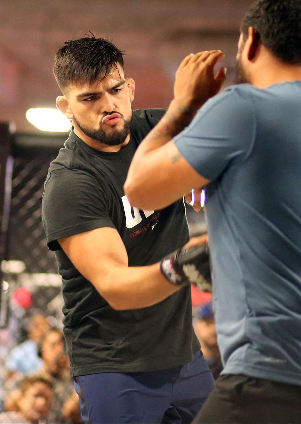 Kelvin Gastelum prepares for upcoming fight at the