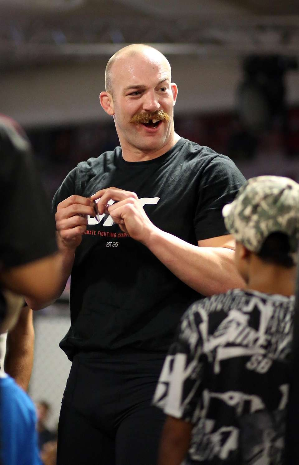 Patrick Cummins prepares for upcoming fight at the