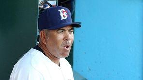 Brooklyn Cyclones manager Edgardo Alfonzo on July 18,