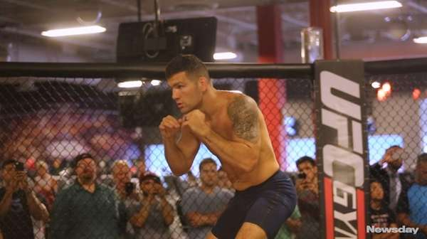 Chris Weidman, the former UFC middleweight champion from