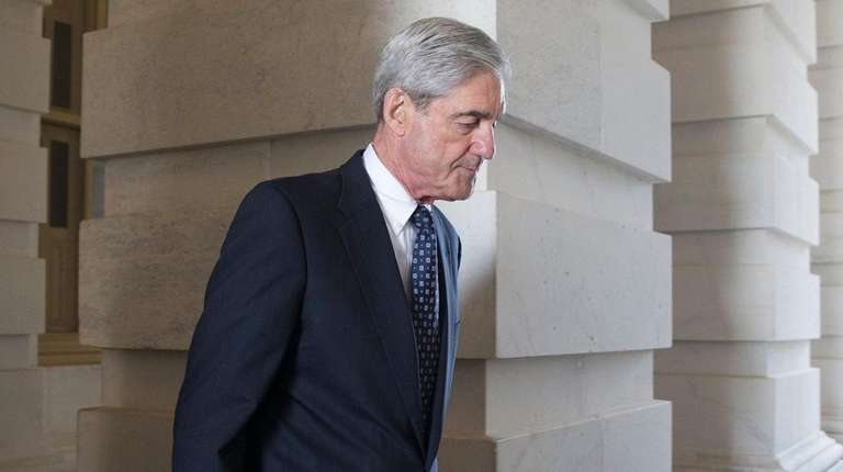 Special counsel and former FBI Director Robert Mueller