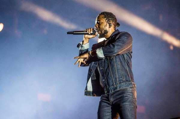 Kendrick Lamar performs in Quebec City, Canada on