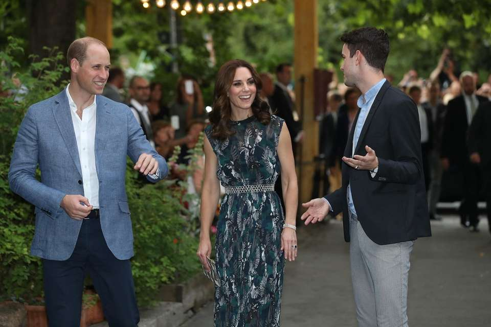 Prince William, Duke of Cambridge, and Catherine, Duchess
