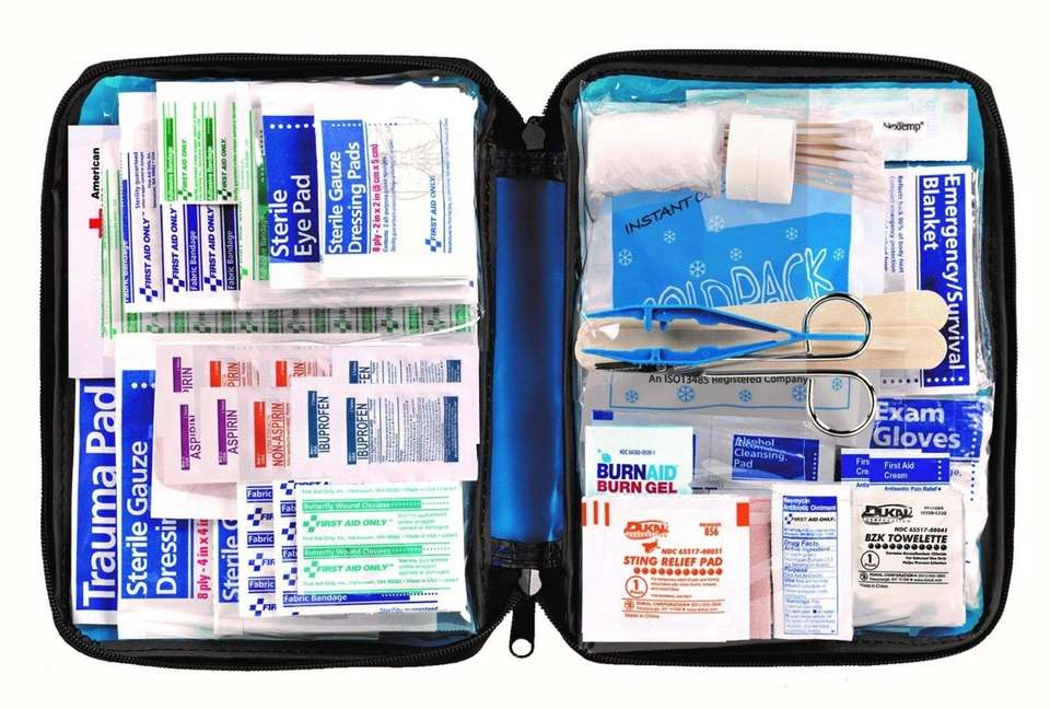 Always have a first aid kit handy for