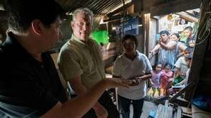 Al Gore, center, in a scene from