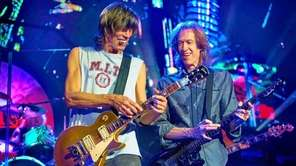 Guitarists Tom Scholz, left, and Gary Pihl are
