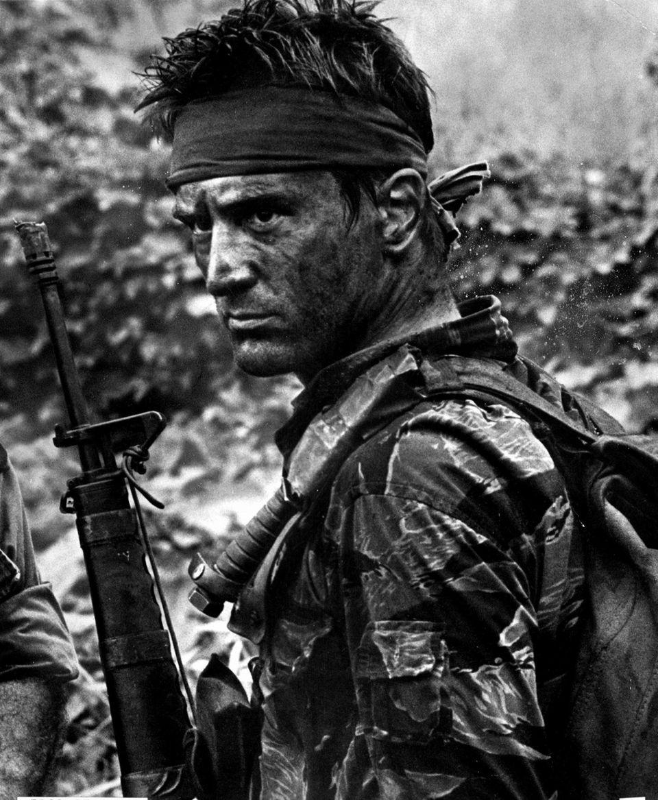 """Robert De Niro as Michael in """"The Deer"""