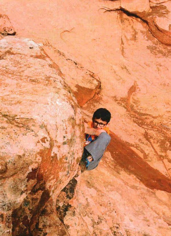 Kidsday reporter Tej Parekh went rock climbing in