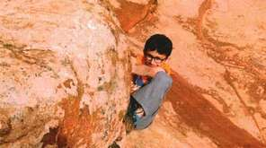 Kidsday reporter Tej Parekh went rock climbing in