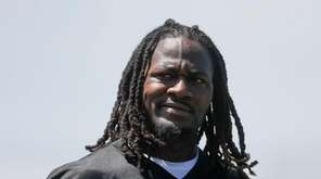 Cincinnati Bengals cornerback Adam Jones walks the field